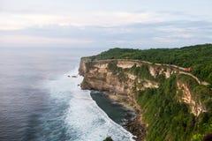Висок Uluwatu - Бали Индонезия Стоковые Изображения RF