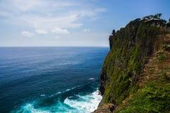 Висок Uluwatu на Бали, Индонезии Стоковое Изображение RF