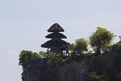 Висок Uluwatu, bali, Индонесия Стоковая Фотография RF