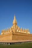 висок vientiane pha luang Лаоса Стоковая Фотография RF