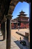 Висок Vishnu и королевский дворец Стоковая Фотография RF