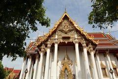 Висок Wat в Бангкоке Таиланде Стоковое Изображение RF