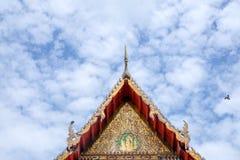 Висок Wat тайский для поклонения оно вера ` s буддизма стоковые изображения rf