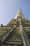 Висок Wat Arun буддийский в Bankok, Таиланде Стоковое Изображение