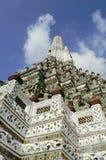 Висок Wat Arun буддийский в Bankok, Таиланде Стоковое Фото