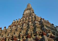 Висок Wat Arun Бангкок Таиланд Стоковое Изображение