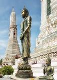 Висок Wat Arun рассвета стоковая фотография