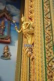 Висок Wat Buakwan золота буддийский строя в Бангкоке Таиланде Стоковое фото RF