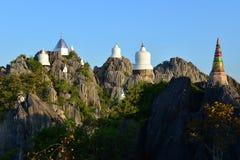 Висок Wat Chalermprakiat Prajomklao Rachanusorn красивый тайский Стоковые Фото
