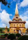 Висок Wat Chalong Стоковые Изображения RF