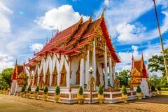Висок Wat Chalong Стоковое Изображение RF