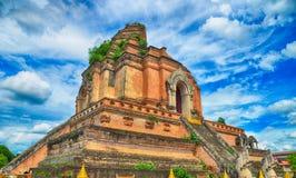 Висок Wat Chedi Luang в Chiangmai Стоковое фото RF