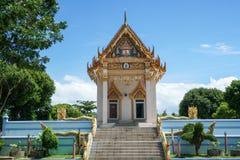 Висок Wat Khunaram буддийский, остров Samui Стоковое фото RF