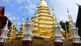 Висок Wat Pantao на Чиангмае, Таиланде акции видеоматериалы