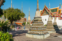 Висок Wat Pho, королевский дворец, Бангкок, Таиланд стоковое изображение