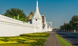 Висок Wat Pho, королевский дворец, Бангкок, Таиланд стоковое фото
