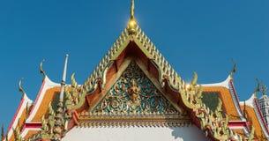 Висок Wat Pho, королевский дворец, Бангкок, Таиланд стоковая фотография rf