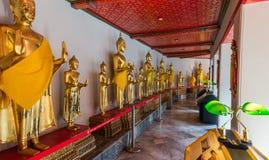 Висок Wat Pho, королевский дворец, Бангкок, Таиланд стоковые изображения rf
