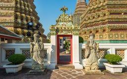 Висок Wat Pho, королевский дворец, Бангкок, Таиланд Стоковое фото RF