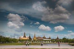 Висок Wat Phra Kaew изумрудного Будды Стоковые Фото