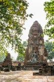 Висок Wat Phra Mahathat Стоковые Изображения RF