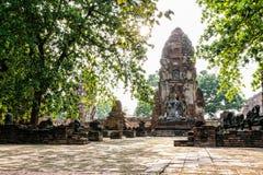 Висок Wat Phra Mahathat Стоковые Фото
