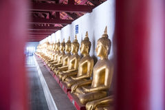 Висок Wat Phra Si Rattana Mahathat, провинция Phitsanulok, Thail Стоковое фото RF