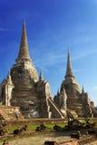 Висок Wat Phra Sri Sanphet, Ayutthaya Стоковое Изображение RF