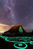 Висок Wat Phu Prao Sirindhorn Wararam Phu Prao, невиденное Te Стоковое Изображение RF