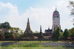 Висок Wat Phutthaisawan красивого вида в Ayutthaya Таиланде Стоковая Фотография RF