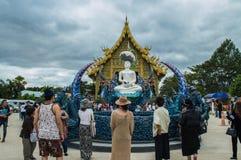 Висок Wat Rong Suea 10 Rong Suea 10 или голубой висок Стоковые Изображения