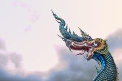 Висок Wat Rong Suea 10 Rong Suea 10 или голубой висок Стоковое Изображение