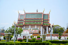 Висок Wat Sraket Rajavaravihara буддийский Бангкока Таиланда 00 Стоковая Фотография RF