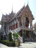 Висок Wat Suthiwararam Стоковое Фото