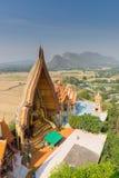 Висок Wat Tham Seua пещеры тигра стоковое фото