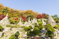 Висок Waujeongsa, Корея Стоковые Фото