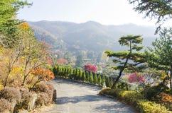 Висок Waujeongsa, Корея Стоковые Изображения RF