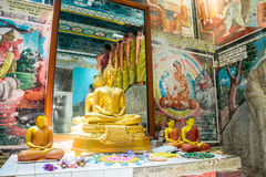 Висок Weherahena буддийский, Шри-Ланка Стоковая Фотография RF
