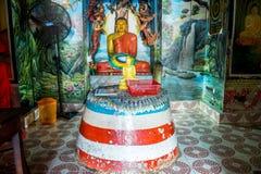 Висок Weherahena буддийский, Шри-Ланка Стоковое фото RF