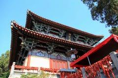 Висок Xiangshan в Longmen выдалбливает, гроты строба дракона, в городе Лояна Стоковые Изображения