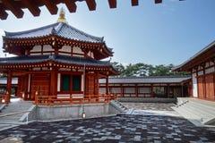 Висок Yakushi-ji Стоковое Изображение RF