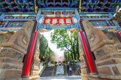 Висок Yuantong самый известный буддийский висок в провинция Kunming, Юньнань, Китай Стоковое Изображение RF