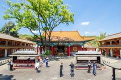 Висок Yuantong самый известный буддийский висок в провинция Kunming, Юньнань, Китай Стоковые Фото