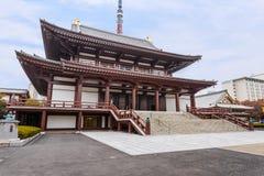 Висок Zojoji в токио стоковые фотографии rf