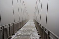 Висячий мост стоковая фотография rf