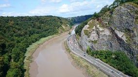 Висячий мост Клифтона Стоковое фото RF