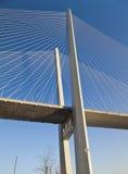 Висячий мост стоковые изображения