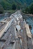 Висячий мост Стоковое фото RF