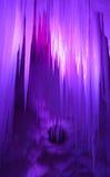 вися льдед Стоковая Фотография RF
