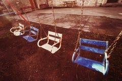Вися места качания с винтажным влиянием Стоковая Фотография RF
